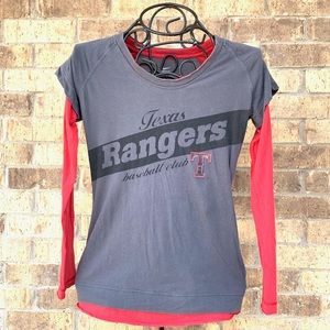 Nike Texas Rangers Long Sleeve T-Shirt